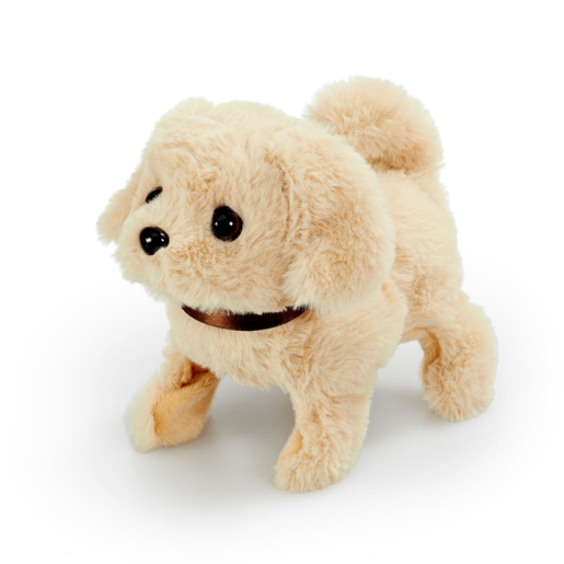 Pitter Patter Pets Playful Puppy Pal - Cream Labrador