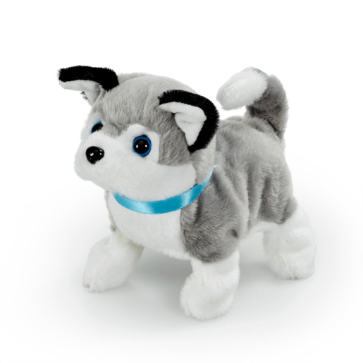 Pitter Patter Pets Playful Puppy Pal - Grey Husky