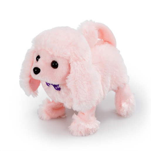Pitter Patter Pets Playful Puppy Pal - Pink Poodle