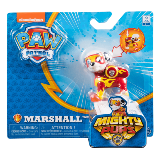 Paw Patrol Mighty Pups Figure - Marshal