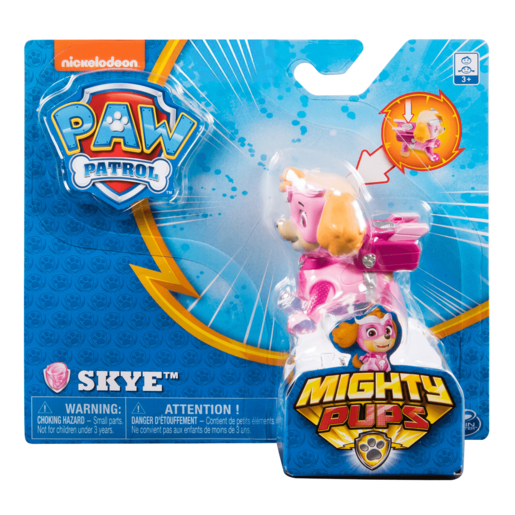 Paw Patrol Mighty Pups Figure - Skye
