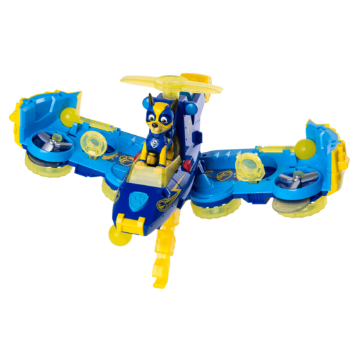 Paw Patrol Mighty Pups Flip and Fly 2-in-1 Transforming Vehicle - Chase