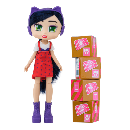 Boxy Girls 20cm Fashion Doll - Riley
