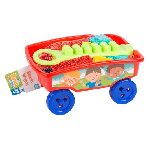 Build Me Up Blocks Wagon – 25pc