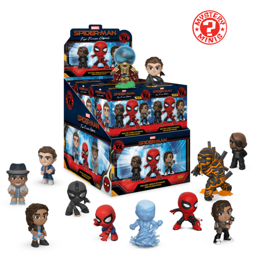 Funko Mistery Minis - Marvel Spider-Man Far From Home (One Figure Supplied)