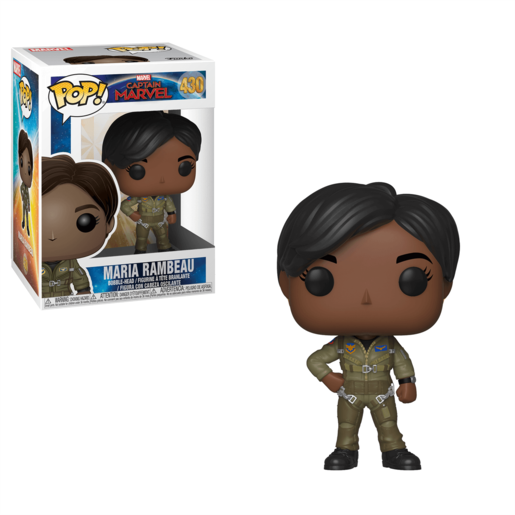 Funko Pop! Marvel: Captain Marvel - Maria Rambeau