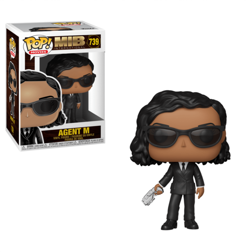 Funko Pop! Movies: Men In Black International - Agent M