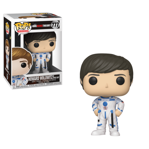 Funko Pop! Television: The Big Bang Theory - Howard Wolowitz (Space Suit)