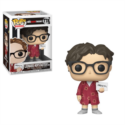 Funko Pop! Television: The Big Bang Theory - Leonard Hofstadter
