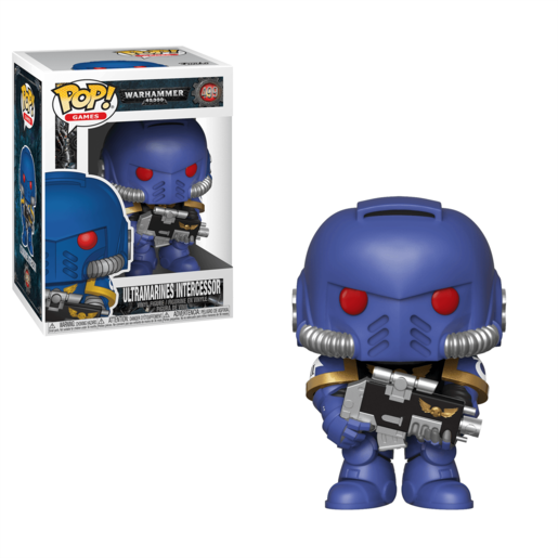 Funko Pop! Games: Warhammer 40 000 - Ultramarines Intercessor