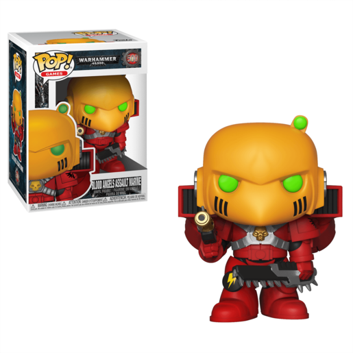 Funko Pop! Games: Warhammer 40 000 - Blood Angels Assault Marine