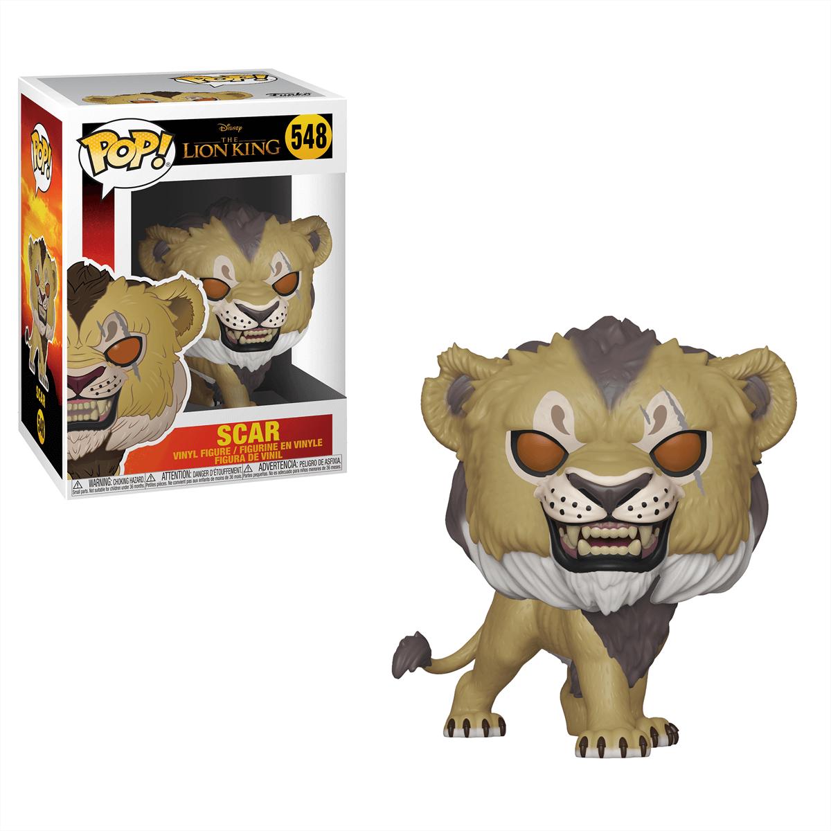 Funko Pop Disney Lion King 2019 Scar