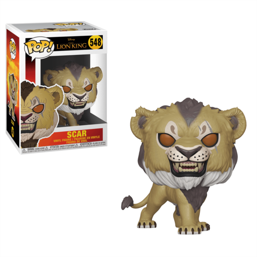 Funko Pop! Disney: Lion King (2019) - Scar
