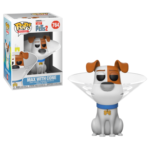 Funko Pop! Movies: The Secret Life Of Pets 2 - Max With Cone