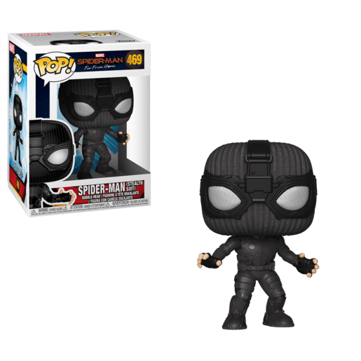 Funko Pop! Marvel: Spider-Man Far From Home - Spider-Man (Stealth Suit)