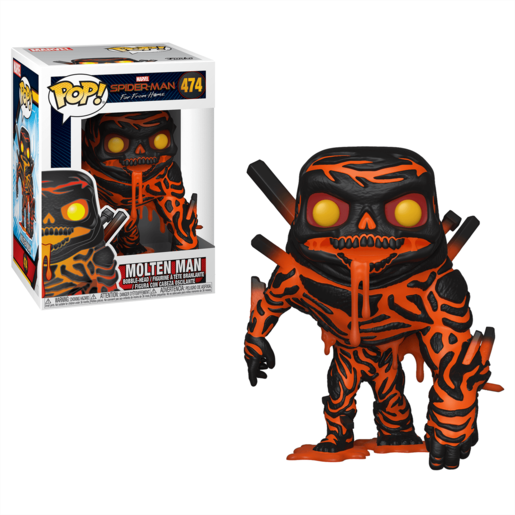 Funko Pop! Marvel: Spider-Man Far From Home - Molten Man