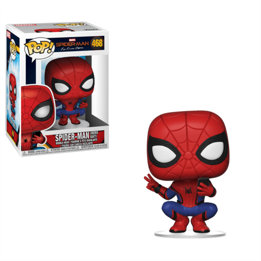 Funko Pop! Marvel: Spider-Man Far From Home - Spider-Man (Hero Suit)