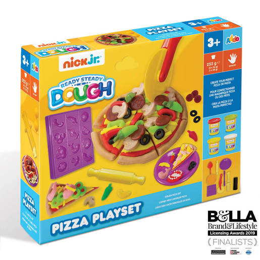 Nick Jr. Ready Steady Dough Pizza Playset
