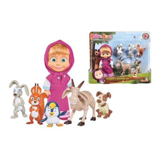 Masha and the Bear - Masha's Animal Set