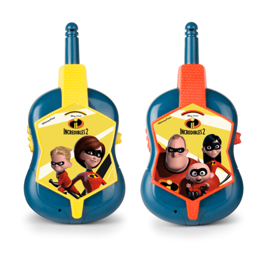 Disney Pixar Incredibles 2 Walkie Talkie Set
