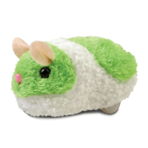 Pitter Patter Pets Busy Little Hamster Neon - Green