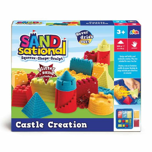 Sandsational Castle Creation Set