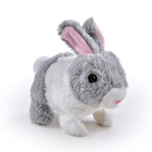 Pitter Patter Pets Teeny Weeny Bunny - Grey Bunny