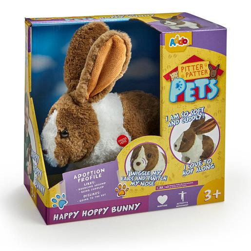 Pitter Patter Pets Happy Hoppy Bunny - Dark Brown from TheToyShop