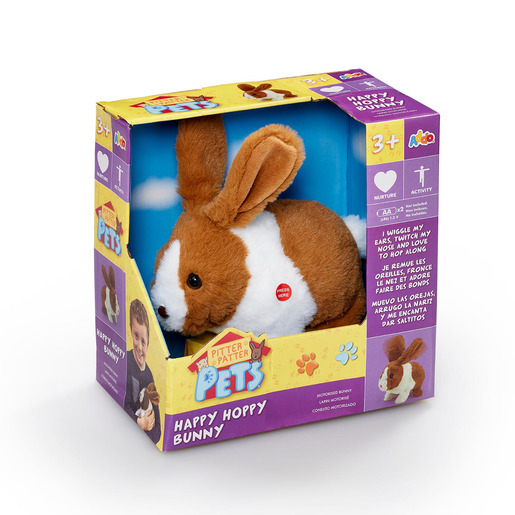 Pitter Patter Pets Happy Hoppy Bunny - Light Brown from TheToyShop