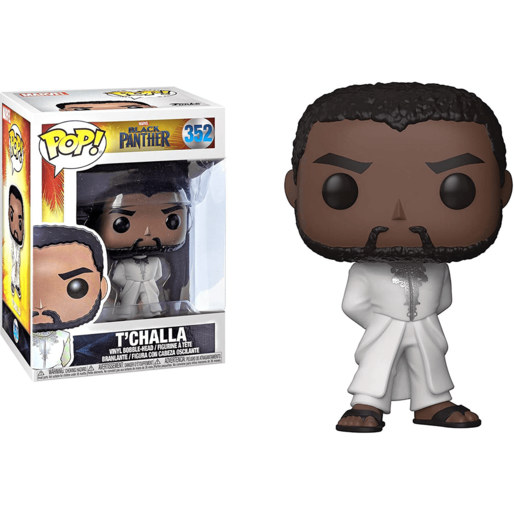 Funko Pop! Marvel: Black Panther - T'Challa