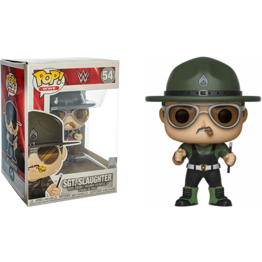 Funko Pop! WWE: WWE - Sgt. Slaughter