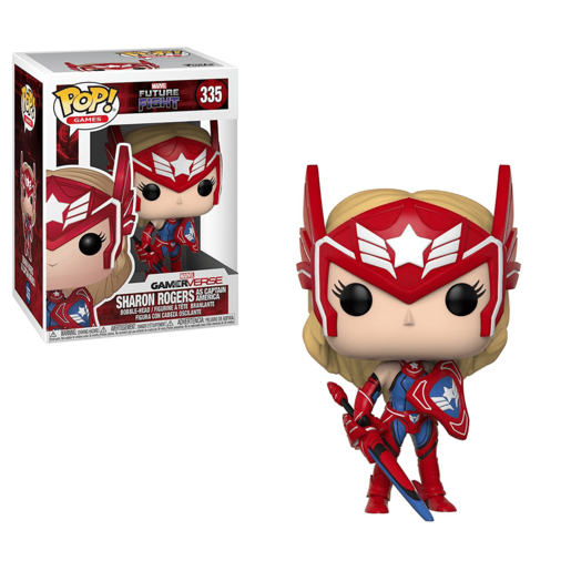Funko Pop! Games: Marvel Future Fight - Sharon Rogers