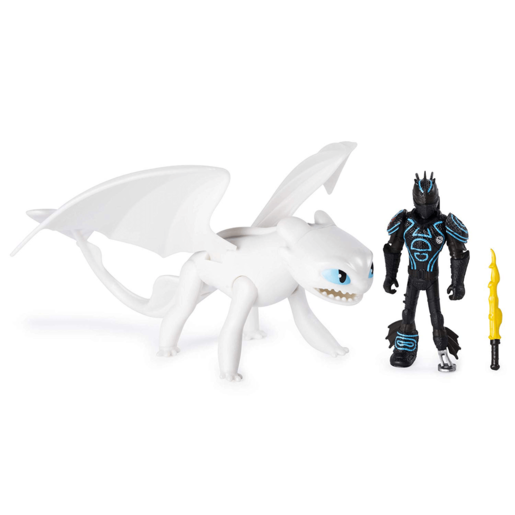 DreamWorks Dragons: The Hidden World - Hiccup and Lightfury from TheToyShop