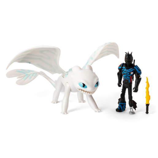 DreamWorks Dragons: The Hidden World - Hiccup and Lightfury (Blue Wings)