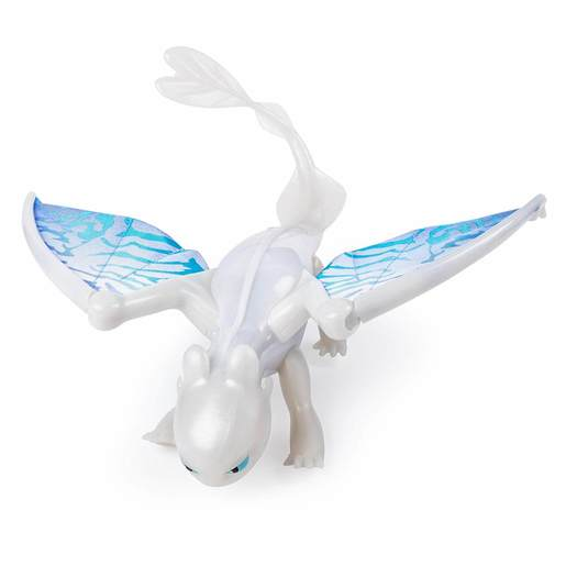 DreamWorks Dragons: Hidden World - Deluxe Lights and Sounds Figure -  Lightfury