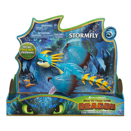 DreamWorks Dragons: Hidden World - Deluxe Lights and Sounds Figure - Stormfly
