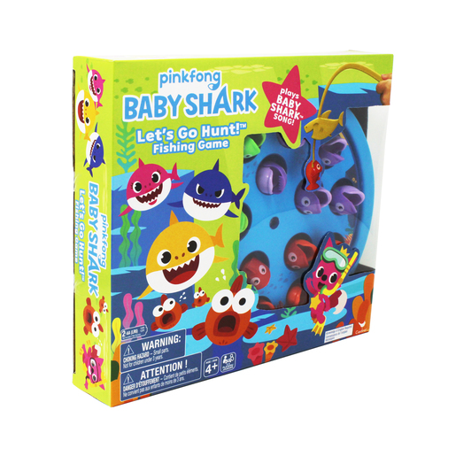 Baby Shark Gone Fishing Game