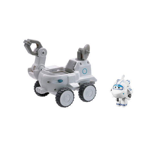 Super Wings Transform A Bot - Astra's Moon Rover