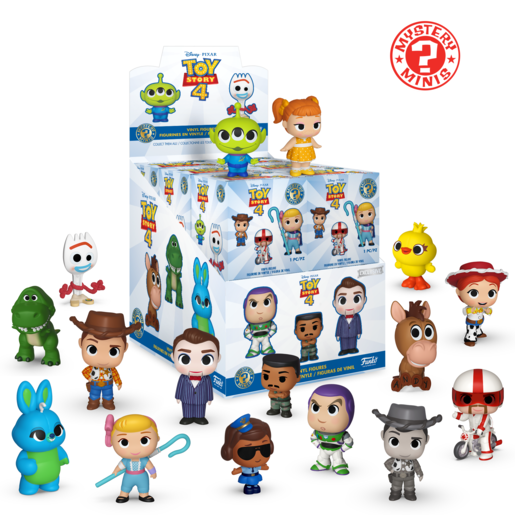 Funko Mystery Minis Series 2- Toy Story 4 (One Figure Supplied)