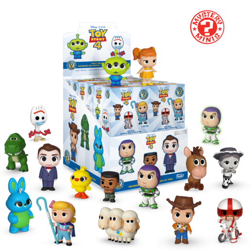 Funko Mystery Minis Series 3- Toy Story 4 (One Figure Supplied)