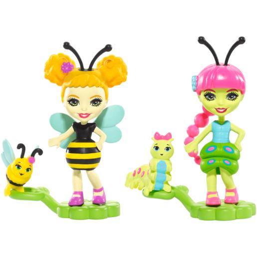 Enchantimals Bug Buddies 2 Pack - Caterpillar and Bumblebee