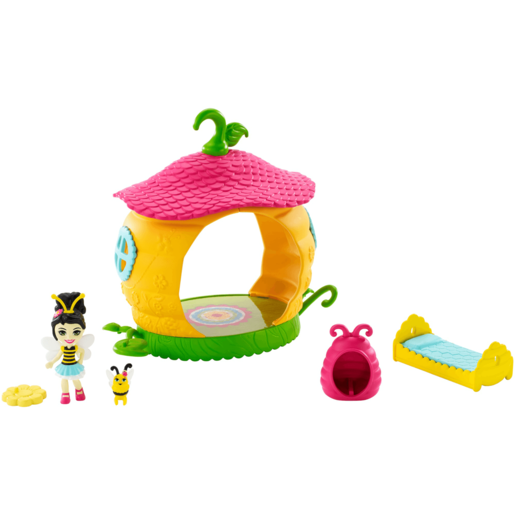 Enchantimals Baxi Butterfly Doll Cocoon Bathroom Playset