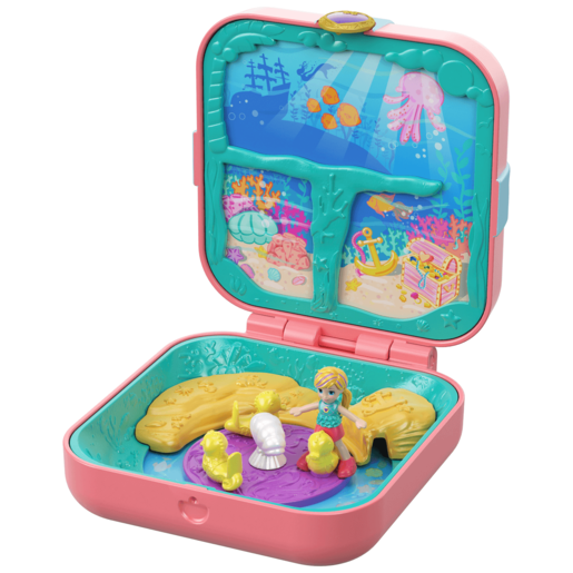 Polly Pocket Hidden Hideouts - Polly's Mermaid Cove Playset