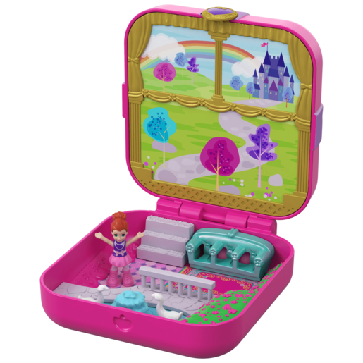 Polly Pocket Hidden Hideouts - Lil's Princess Pad Playset