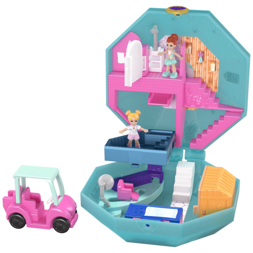 Polly Pocket Tiny Pocket World - Pamperin' Perfume Spa Playset