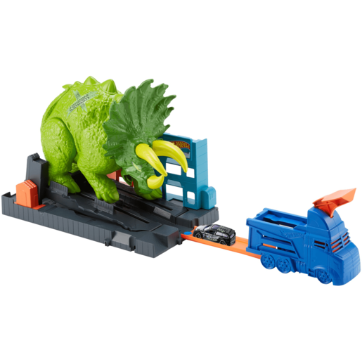 Hot Wheels City Smashing Triceratops