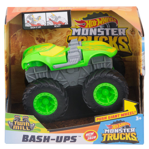 Hot Wheels Monster Trucks Bash-Ups - Twin Mill