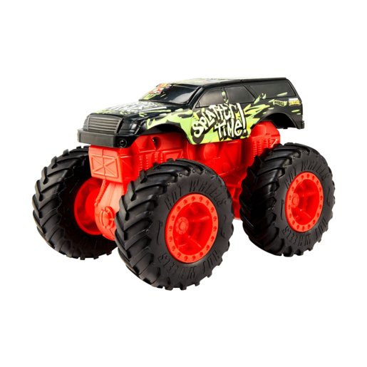 Hot Wheels Monster Trucks Bash-Ups - Splatter Time