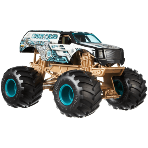 Hot Wheels Monster Trucks Bash-Ups - Cyber Crush