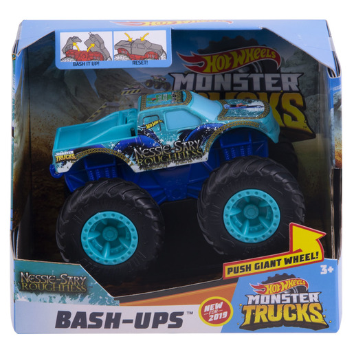 Hot Wheels Monster Trucks Bash-Ups - Nessie-Sary Roughness from TheToyShop